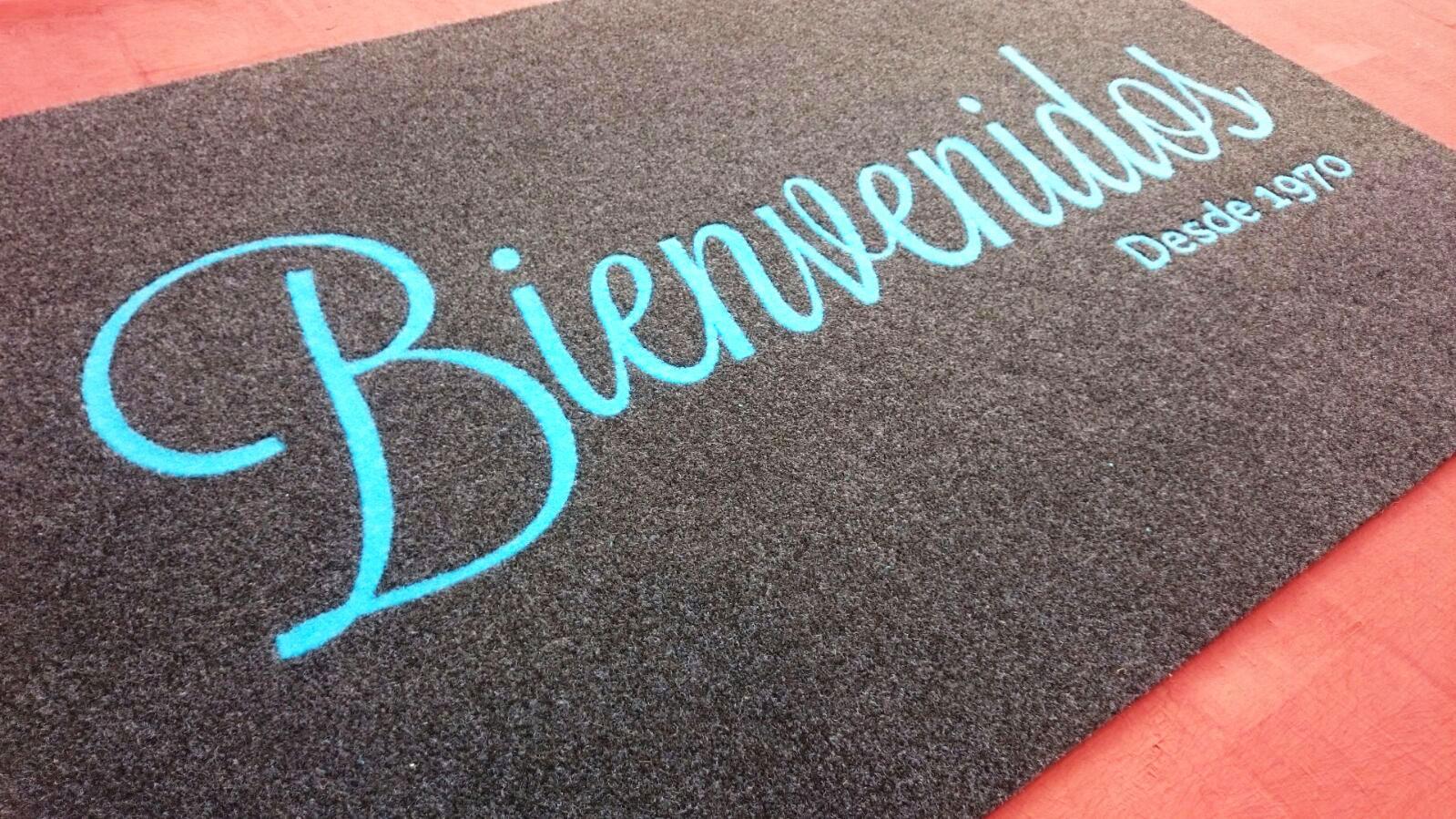 Felpudos y alfombras personalizadas para empresas con logotipo en mallorca custom carpets - Alfombras para empresas ...